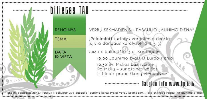 TAVO BILIETAS