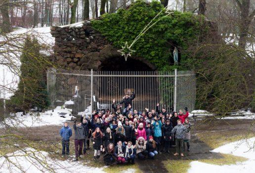 Pranciškoniškos Žiemos akademijos akimirkos