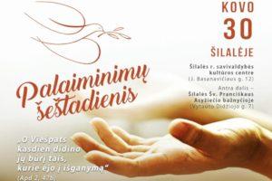 Palaiminimų šeštadienyje Šilalėje – svečio iš Ukrainos liudijimas