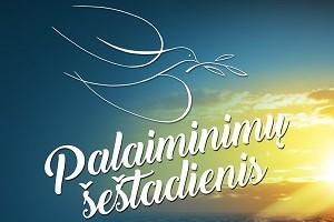 Palaiminimų šeštadienis Palangoje vyks po atviru dangumi